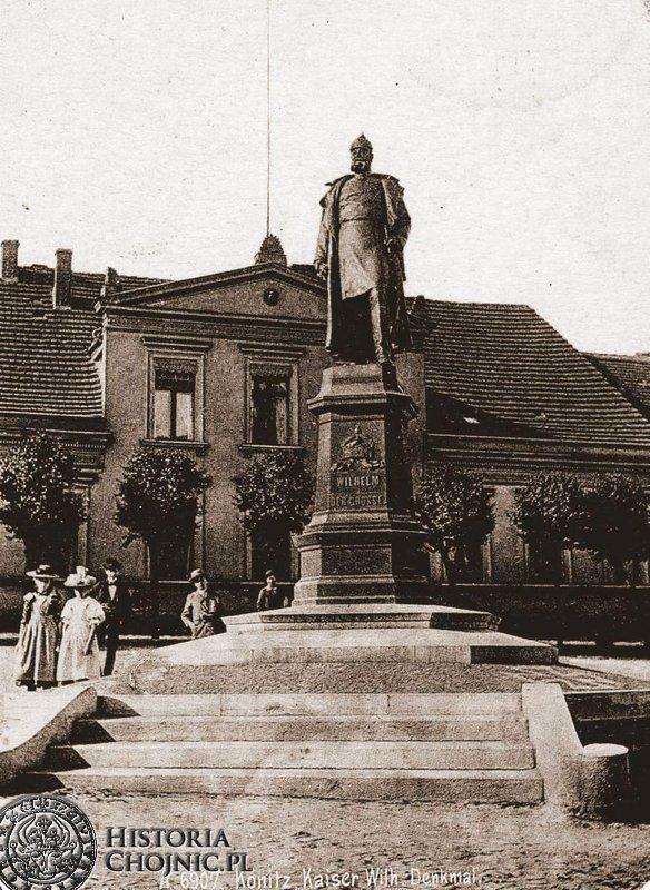 Pomnik cesarza Wilhelmina. Początek XX w.