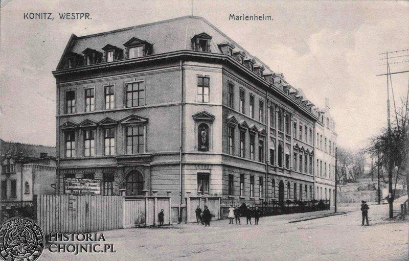 Budynek zakladu św. Boromeusza. Ok. 1910 r.