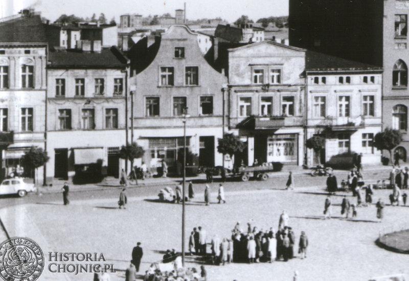 Kamienice przy rynku. L. 60