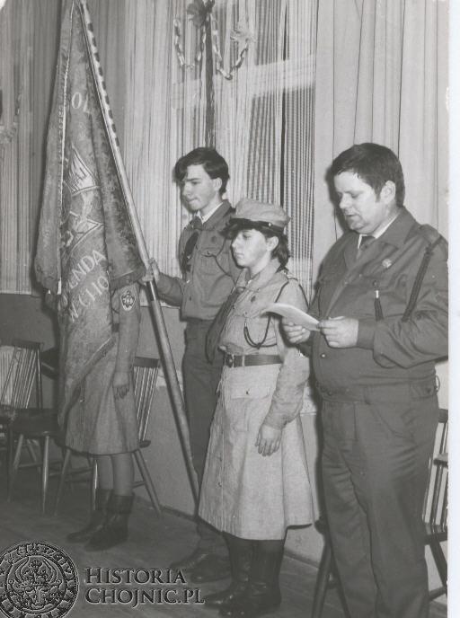 Lata 1981 - 1990. Harcerze