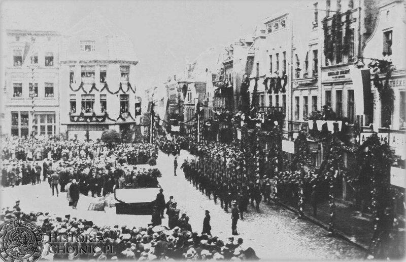 Wizyta prezydenta Wojciechowskiego. 6.08. 1924 r.