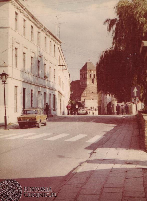 Fragment ul. Młyńskiej. L. 80.
