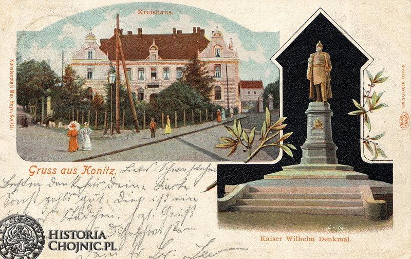 Budynek starostwa. Ok 1905 r.
