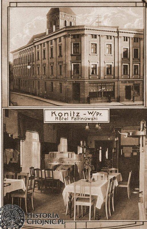 Hotel przy rynku. Ok. 1908 r.