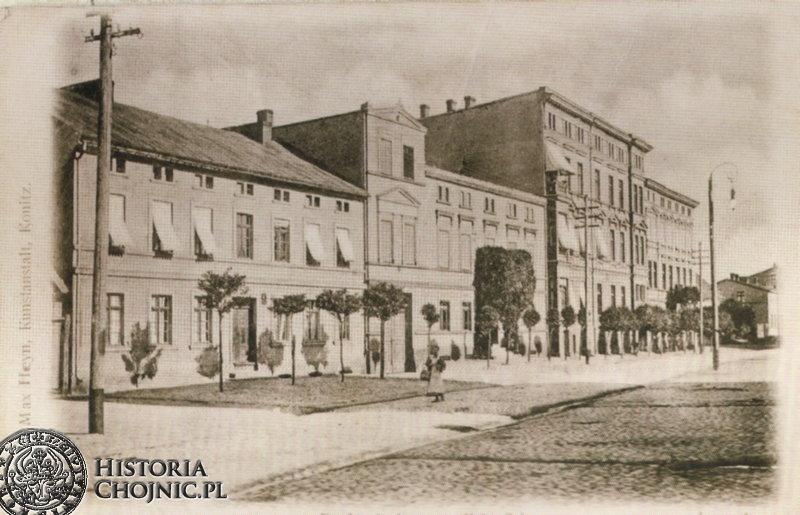 Kamienice przy pl. Jagiellonskim.