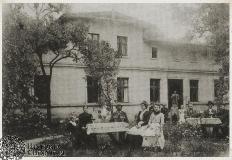Przed restauracją na tzw. Nowej Ameryce. Ok 1900 r.