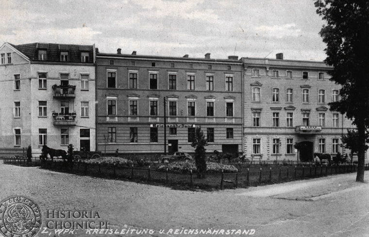 Kreisleitung Reichsnährstand. Chojnice 1944 r.