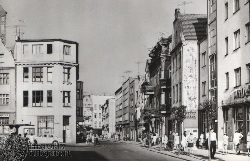 Ulica T. Kościuszki. Początek lat 70 - tych.