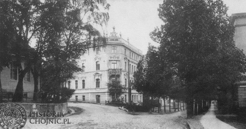 Rozwidlenie ulic Strzeleckiej i Bytowskiej. Ok. 1905 r.