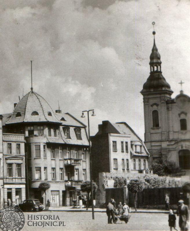 Fragment rynku - Ok. 1957 r.