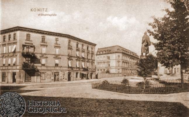 Wilhelmsplatz. Obecnie Niepodległosci.