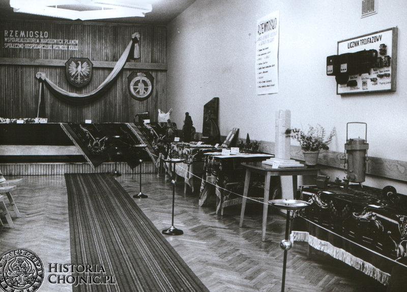 Wystawa w Domu Rzemiosła. 1973 r.