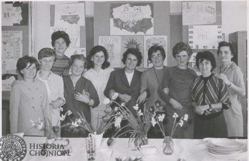 Nauczyciele - 1969 rok.