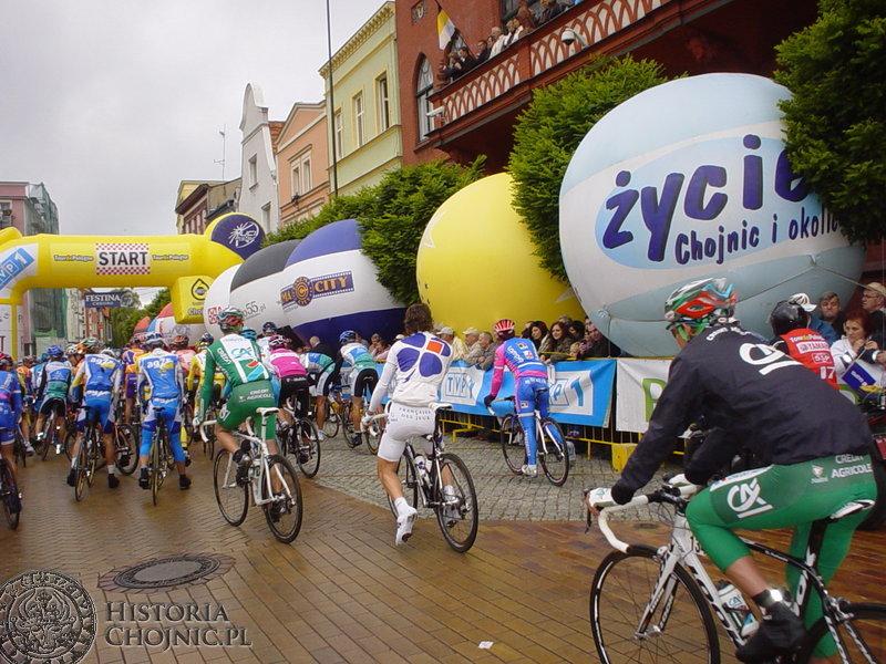 Czwarty etap 64. Tour de Pologne zainaugurowany został z Chojnic do Poznania.