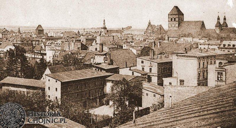 Panorama miasta. Ok. 1918 r.