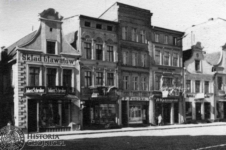 Kamienice przy rynku. L. 20.