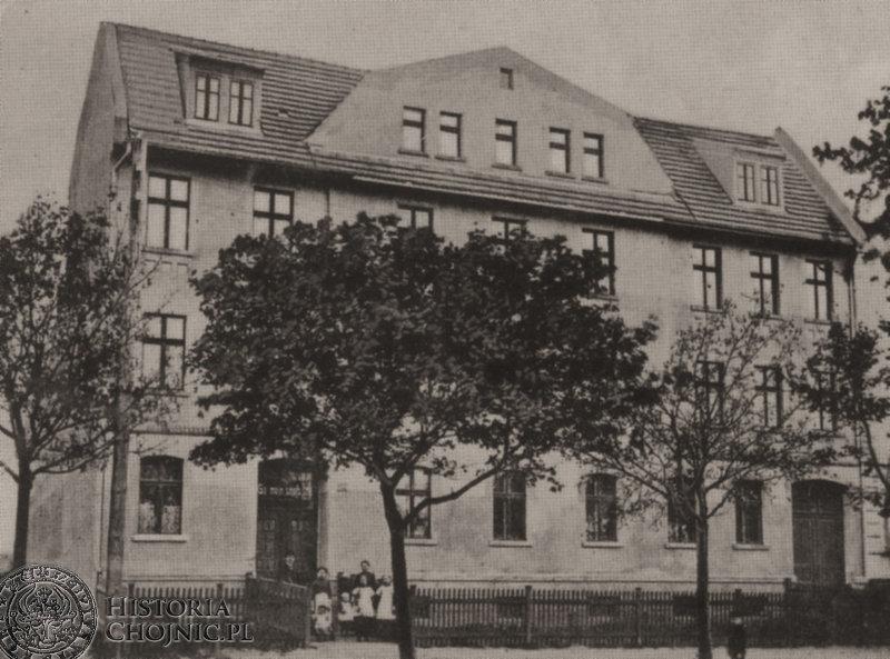 Kamienica przy ob. ul. Mickiewicza. Ok. 1914 r.