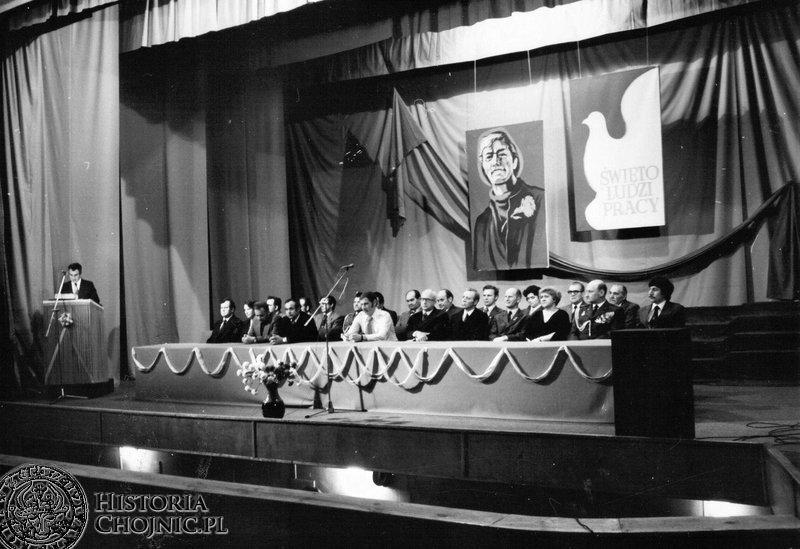 Akademia pierwszomajowa w kino - teatrze. 1980 r.