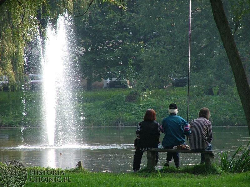 Zainteresowaniem przed rewitalizacją cieszył się staw w Parku Tysiąclecia wzbogacony o wodotrysk.