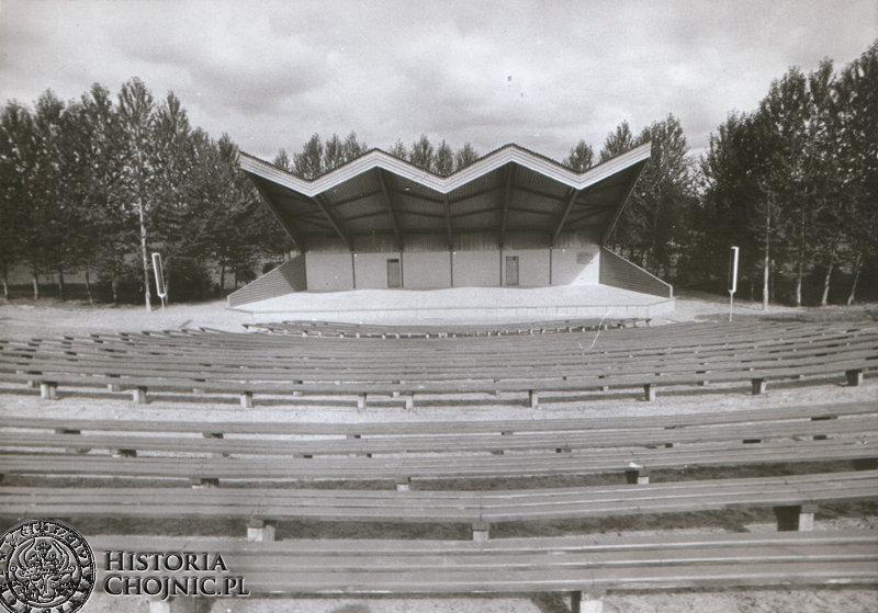 Amfiteatr w Parku 1000 - lecia powstał w czynie społecznym.