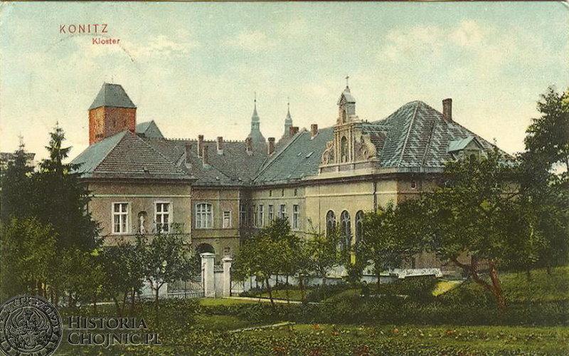 Klasztor. Ok. 1910 r.