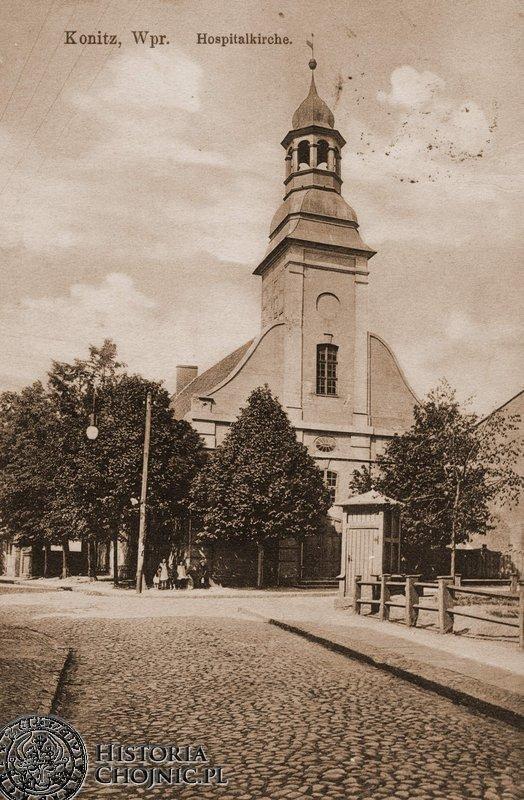 Kościół św. Ducha. Ok.1915 r.