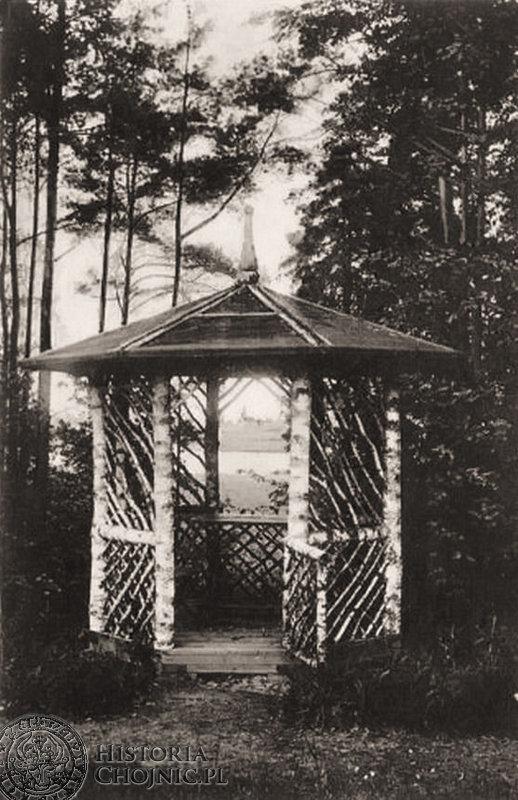 Altana w Parku Miejskim lata 30-te.