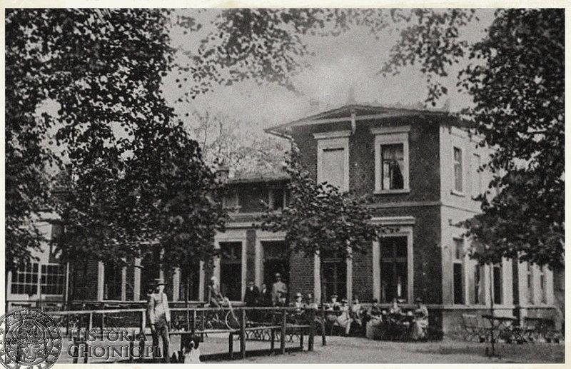 Restauracja Wilhelminka. Ok. 1917 r.