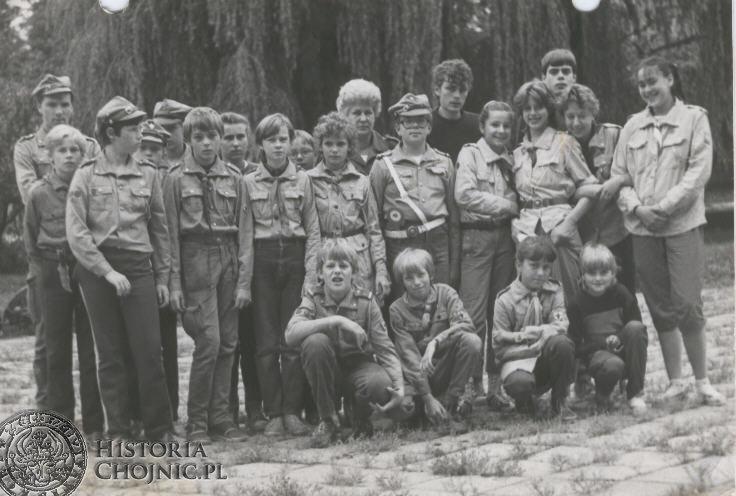 Harcerze - 1987 r.