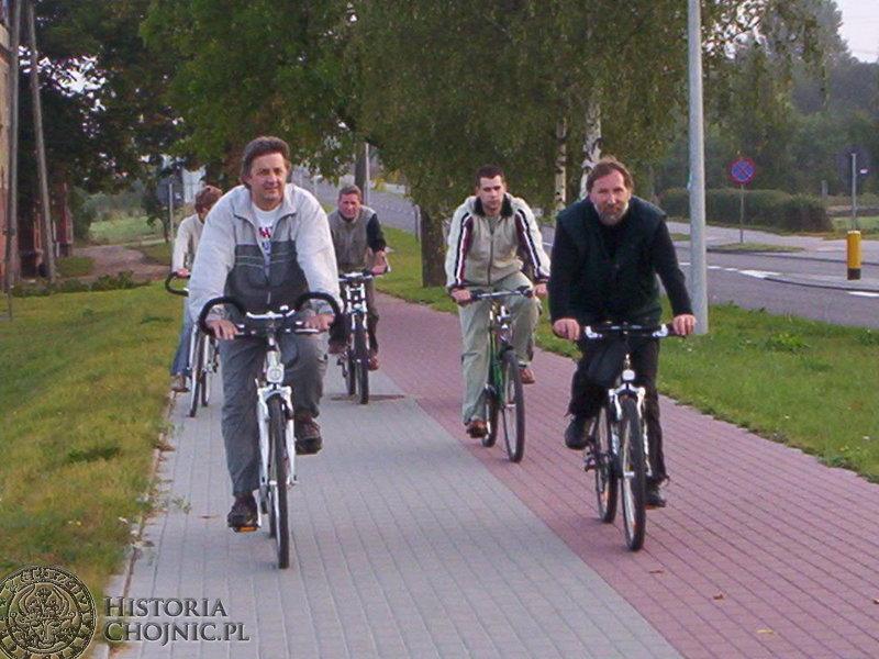 Pracownicy Starostwa Powiatowego na czele z Markiem Buzą do serca wzięli sobie założenia organizowanego w Chojnicach po raz trzeci Europejskiego Tygodnia Mobilności.