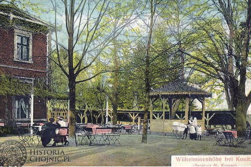 Restauracja Wilhelminka, ok. 1915 r.