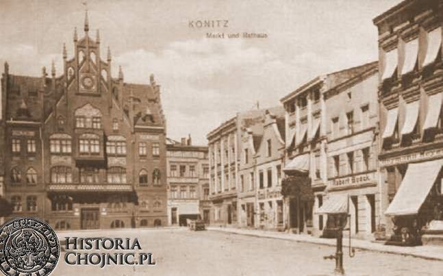 Fragment rynku. Ok. 1910 r.