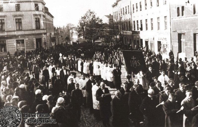 Pogrzeb ks. Makowskiego. 25.10.1934 r.