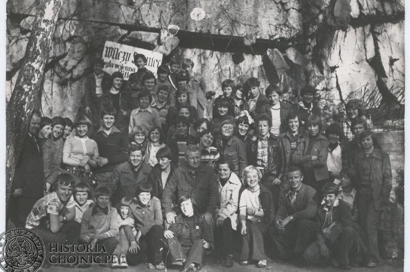 Na szkolnej wycieczce - 1978 rok.