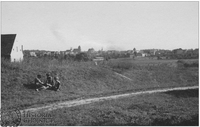 Widok na Chojnice. Sierpień 1939 r.
