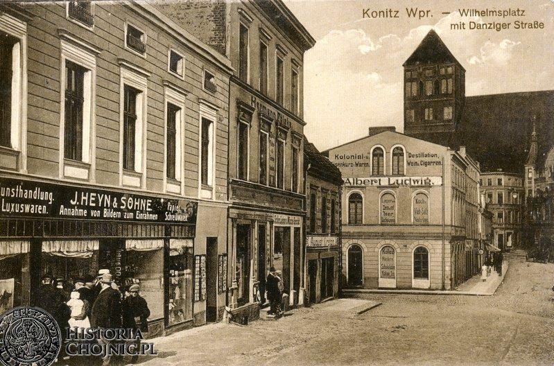 Atelier fotograficzne Heyna przy Wilhelmsplatz (obecnie Niepodległości)