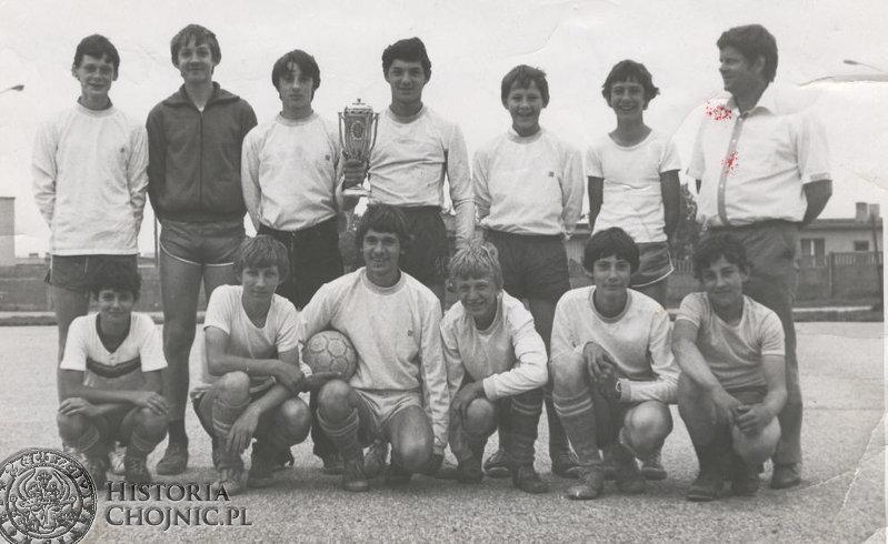 Zajęcia sportowe - 1983 r.