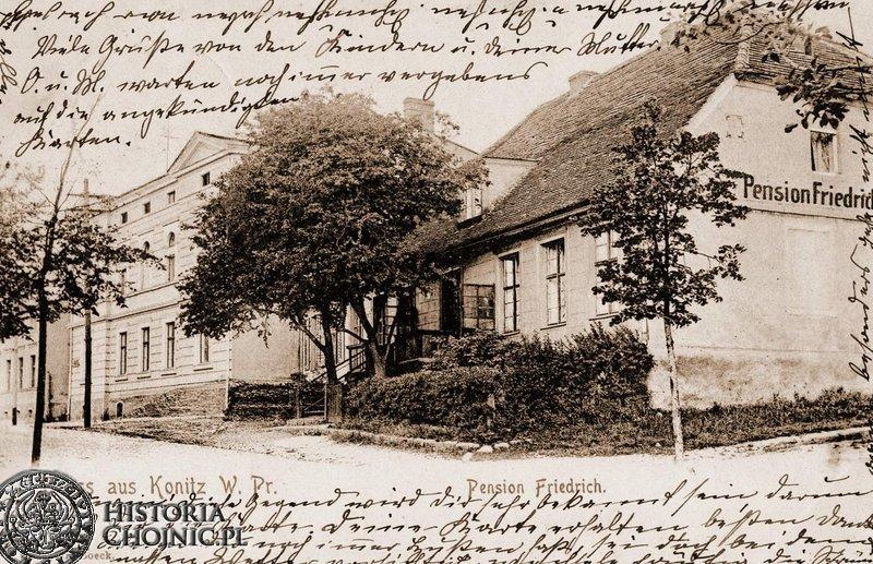 Kamienice przy obecnej ul. Batorego. Ok. 1915 r.