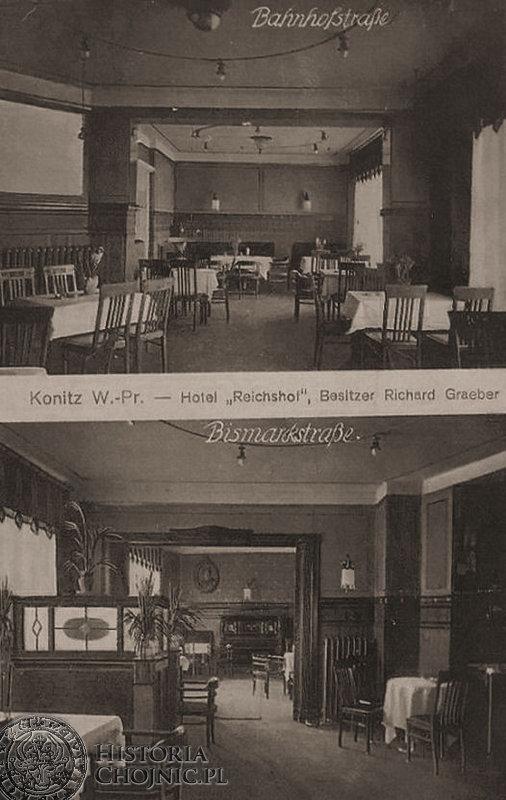 Sale w Hotelu Reischof. Ok. 1910 r.