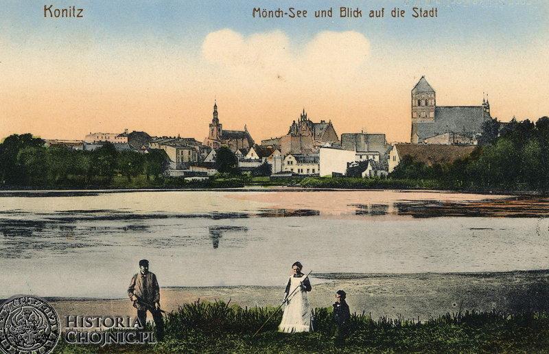 Widok na miasto od strony J. Zakonnego. Ok. 1912 r.
