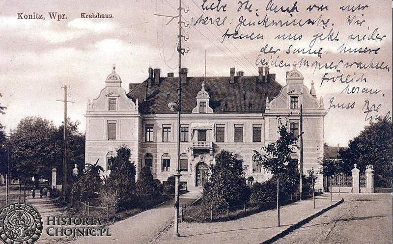 Budynek starostwa. Początek XX w.