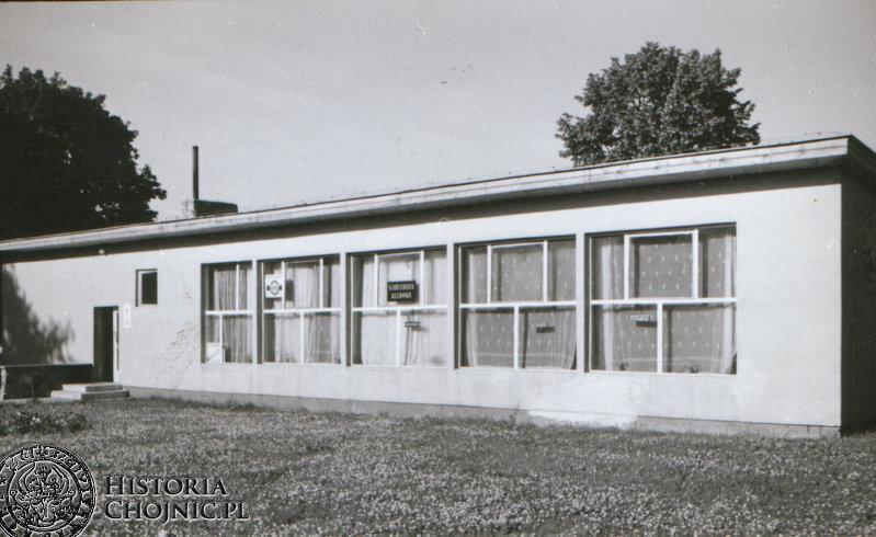 Budynek klubowy Chojniczanki
