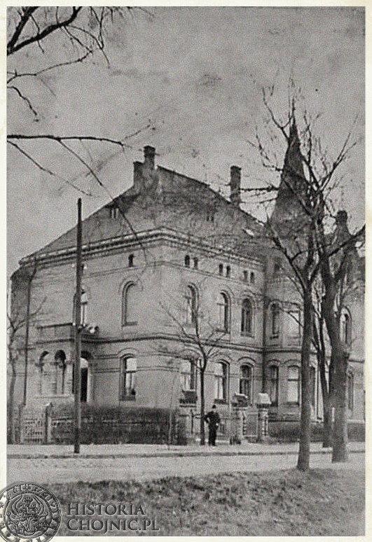 Kamienica przy ul. Dworcowej. Ok. 1910 r.