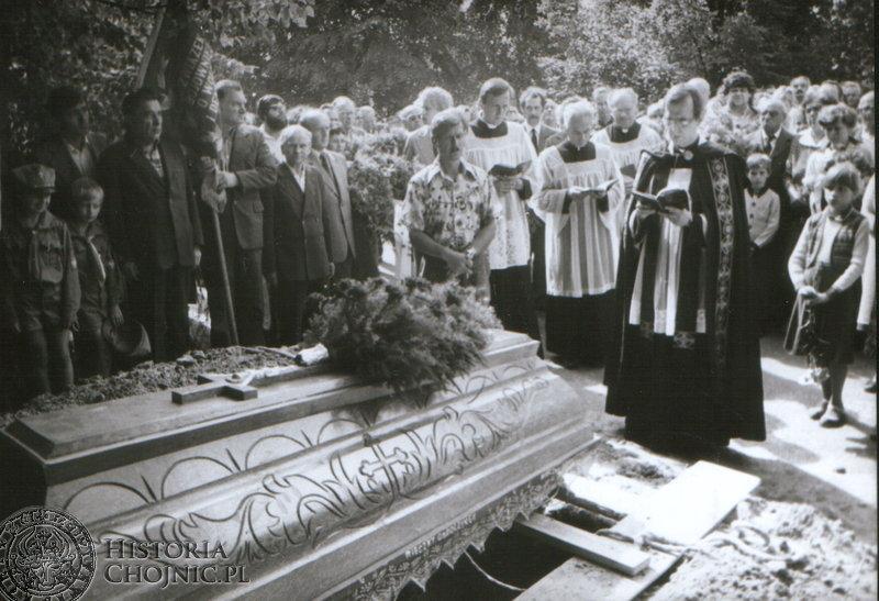 Ostatnie pożegnanie Albina Makowskiego. Sierpień 1982 r.