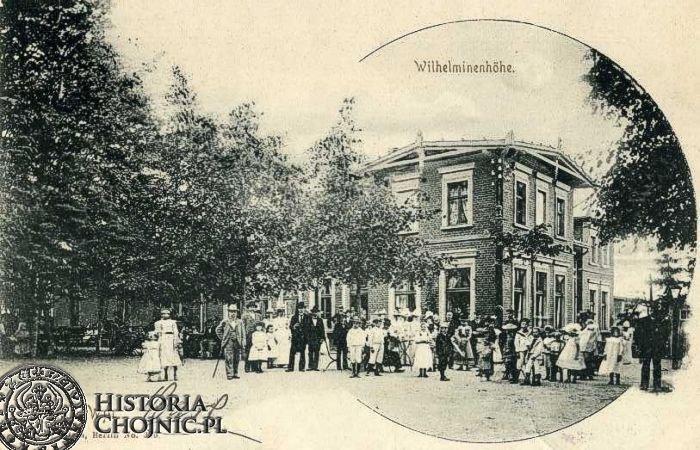 Restauracja Wilhelminka. Początek XX w.