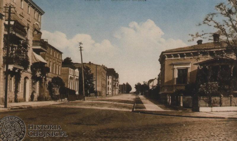 Bismarckstraße. Ok. 1910 r.