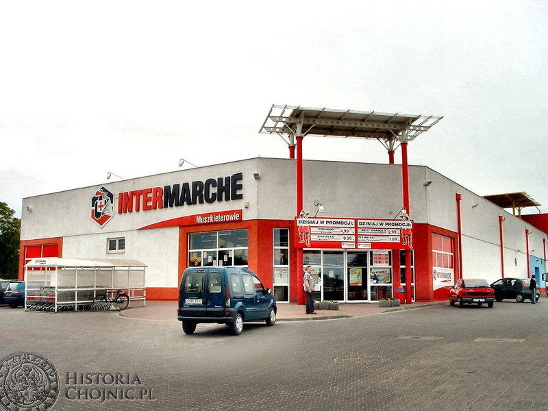 Chojnicki supermarket Intermarche powstał 12 września 2001 roku. Jego prezesem została Halina Montabone.