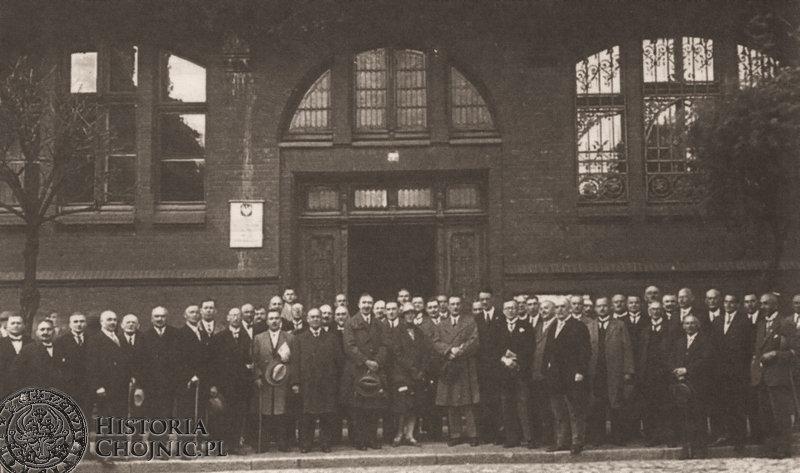 Zjazd reprezentantów Miast Pomorskich w Chojnicach. 1927 r.