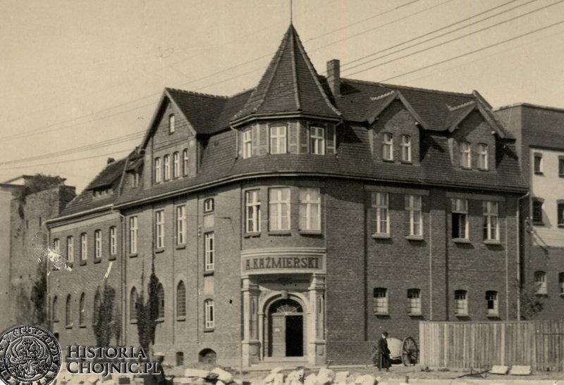Kamienica gorzelni Kaźmierskiego. Ok. 1940 r.