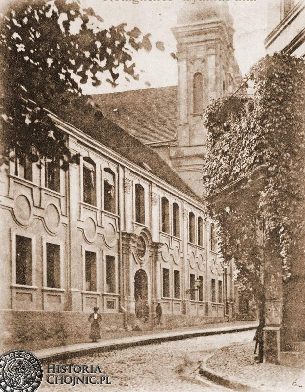 Gimnazjum. Ok. 1910 r.